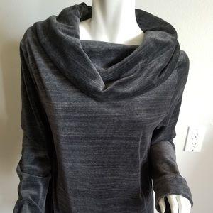 Ann Taylor Loft Velour Lounge sweatshirt size L